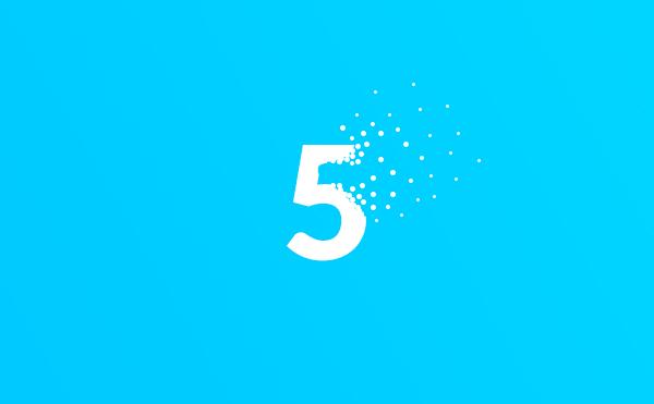 5 افکت حرفه ای در فتوشاپ