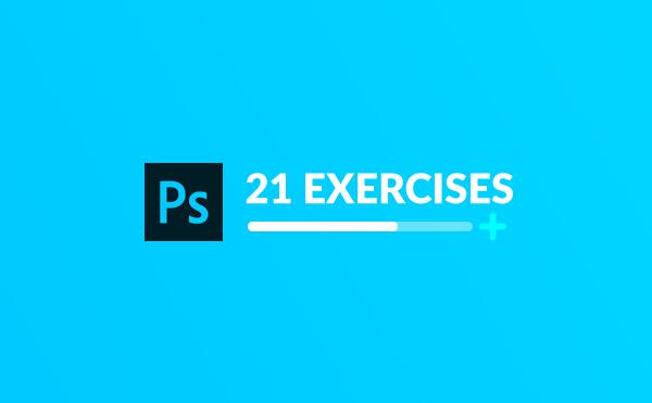تمرین فتوشاپ : 21 تمرین سطح متوسط فتوشاپ Photoshop
